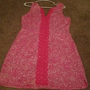 EUC LFT pink dress